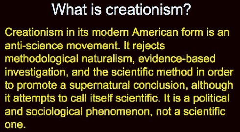 creationism definition