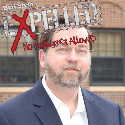 PZ Myers expelled from Expelled movie