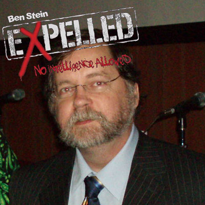 PZ Myers Expelled by creationists