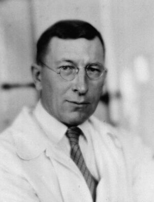 Frederick Banting, discoverer of insulin