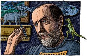 Ray Troll, illustrator andpalaeonerd