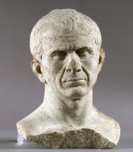 Julius Caesar as an older man circa 45 BCE