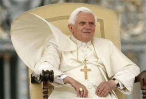 Pope Benedict, formerly Cardinal Ratsinger