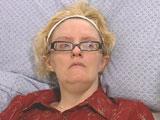 Sandra Nette after her stroke