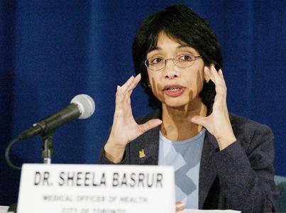 Dr. Sheela Basrur during SARS crisis