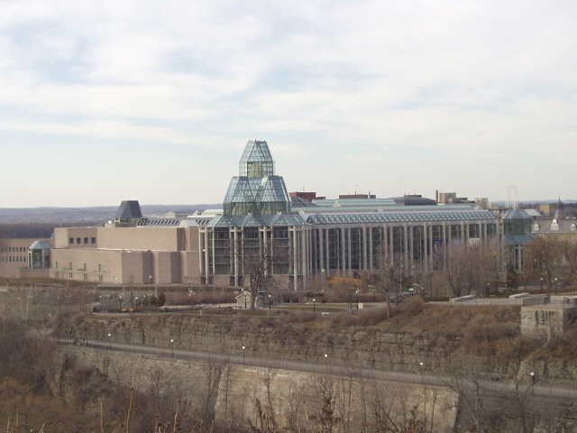 National Gallery of Canada from Parliament Hill