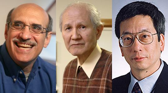 Chalfie, O Shimura, Roger Tsien