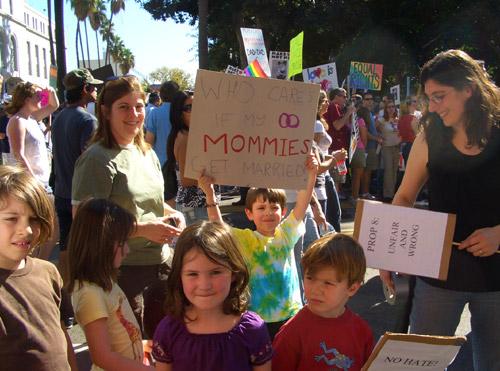 Anti-discrimination demonstration
