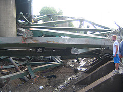Bridge collapse by Noah