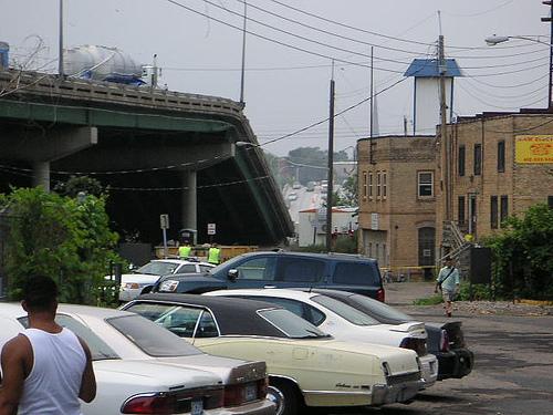Bridge collapse by Adam Meyer
