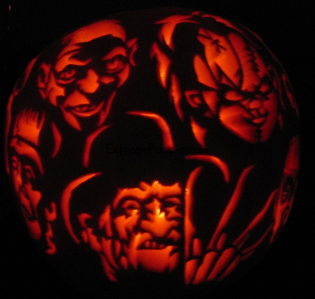 extreme pumpkin carving templates - 301 moved permanently