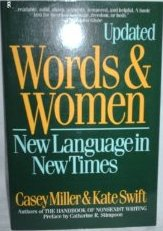 book, Words and Women by Casey Miller and Kate Swift